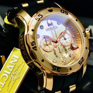 SALE! 18K Chrono Pro Rose Gold Diver Watch